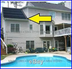 SunHeater Universal 2, 2 ft. X 20 ft. (80 sq. Ft.) Solar Heating System for or