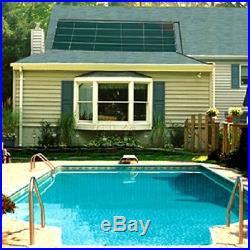 SunHeater Universal (2) 2 x 20 Pool Solar Panels Heating System 80 sq ft S240U