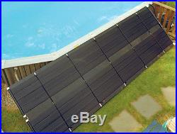 SunHeater Universal 2 x 20 (40 sq ft) Pool Solar Panel Heating System S120U