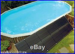 SunHeater Universal Swimming Pool 2' x 20' (40 sq. Ft.) Solar Heating System