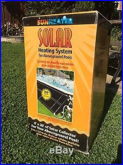 Sunheater 4' X 20' Solar Panel for above ground pool