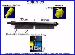SuperPreis 33cmx800cm EPDM Poolheizung Solarheizung Schwimmbad Solarabsorber