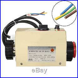 Swimming Pool & Bath SPA Hot Tub Electric Water Heater Thermostat 3KW 220V