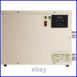 Swimming Pool & Bath Tub Water Heater Jacuzzi Easy Install Stainless steel