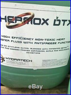 Thermox DTX Air / Ground Source Heat Pump Fluid, anti freeze, heat transfer 25L
