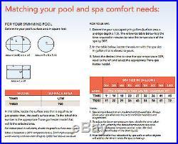 Trane Residential 250K BTU LED Natural Gas Swimming Pool & Spa Heater TR250NA