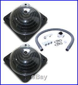 Two Kokido Keops Solar Dome Above Ground Pool Water Heaters & Bypass Kit