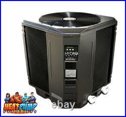 USA made Hydro Royal Swimming Pool Heat Pump Heater HR150 140,000 BTU 6.0 COP