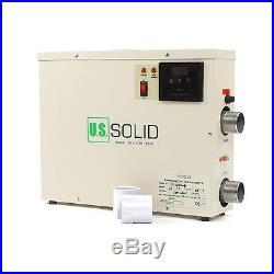 U. S. Solid 15KW 220V Electric Swimming Pool & Home Bath SPA Hot Tub Water Heater