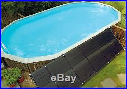 Universal Sun Heater 4 X 20 Feet Solar Heater System Panel For Swimming Pool NEW