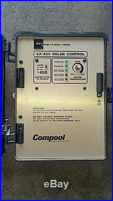 Used PENTAIR COMPOOL Lx220 SOLAR CONTROL System works fine