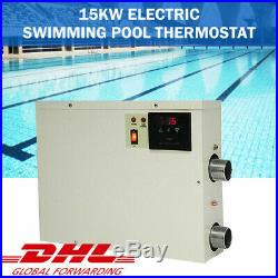 VIC 9KWith15KW Electric Swimming Pool Thermostat SPA Hot Tub Water Heater 220/240V