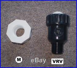 Vacuum Relief Valve for Sunquest Solar Pool Heater Panels