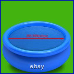 VidaXL Solar Inground Swimming Pool Cover Tarp Film Blue/Black 14 Sizes