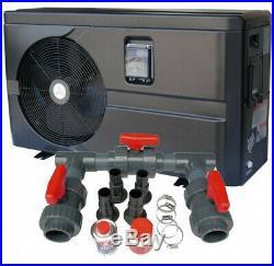 Wärmepumpe 10 kw inkl. Bypass Poolheizung Wärme Pumpe Luft Wasser Wärmetauscher