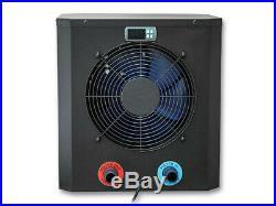Wärmepumpe 2,2 KW ABS Gehäuse 10 m³ für Aufstellpools Poolheizung Luft Heizung