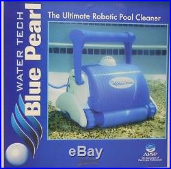 Water Tech Blue Pearl Robotic Automatic Pool Cleaner with Free Shipping to the U. S