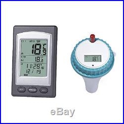 Wireless Thermometer In Swimming Pool Spa Hot Tub Waterproof Thermometer MS