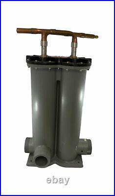Zodiac R0561404 Heat Exchanger Replacement for Zodiac Jandy AE-Ti 3000 Heat Pump